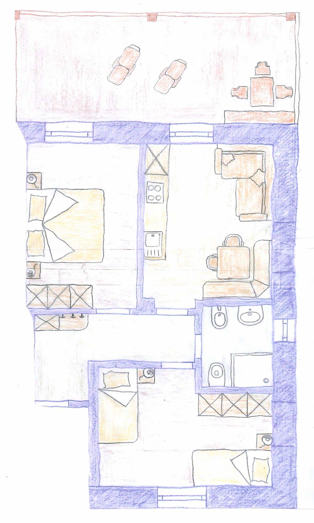 Grundriss Wohnung Lärche