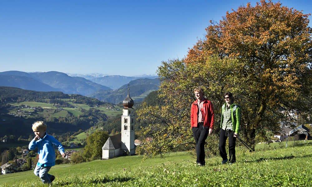 Escursionismo in autunno a Castelrotto