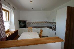 Küchenbereich Wohnung Eiche