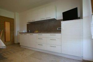 Kochbereich Apartment Lärche