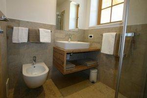 Sanitärbereich Apartment Lärche
