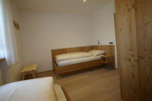 Schlafzimmer 2 Apartment Lärche